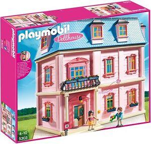 PLAYMOBIL-5303-Romantisches-Puppenhaus-NEU-amp-OVP