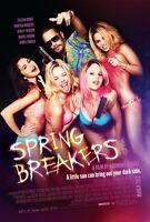 Spring Breakers Movie Poster - Vanessa Hudgens Poster, Selena Gomez Poster