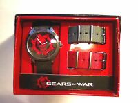 Microsoft Studios Accutime Gears Of War Wrist Watch Brand In Box