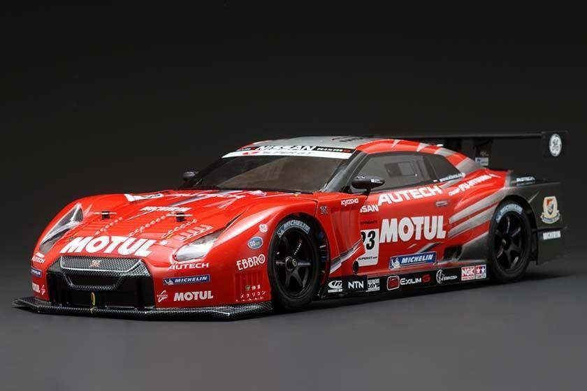 YOKOMO GT 500 series Nissan R-35 GTR body with on-road car kit Japan