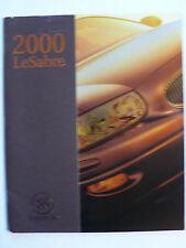 Prospekt Buick LeSabre 2000, 2000, 42 Seiten, Hochglanz aus USA