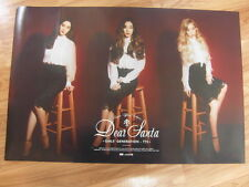 TAETISEO SNSD GIRLS' GENERATION  DEAR SANTA (TYPE B) [ORIGINAL POSTER] TTS K-POP