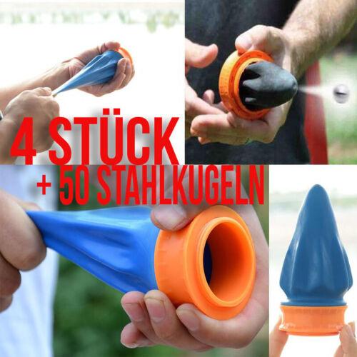 KUGELN   DE 4 STÜCK Zwille Profi Pocket Steinschleuder Pocket Sling Shot