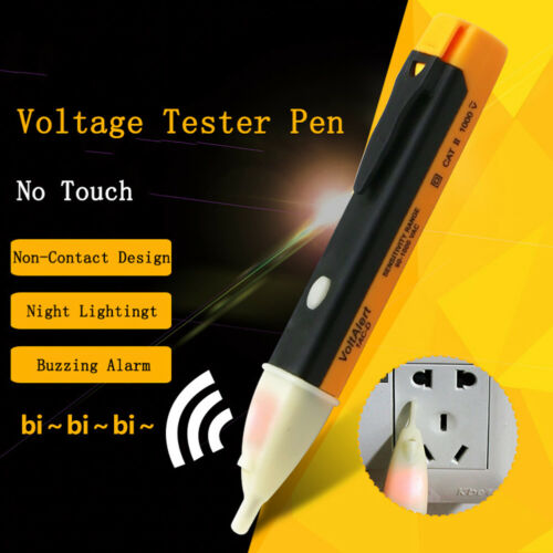 Electric Indicator 90-1000V Socket Wall AC Power Outlet Voltage Tester Pen TC