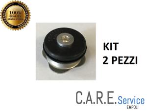 Kit 2 Ventile für Lagostina Sicherheit für Schnellkochtopf Druck 3-5-7-9 Lt