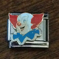Bozo The Clown Italian Charms Officially Licensed Authentic Casa D'oro