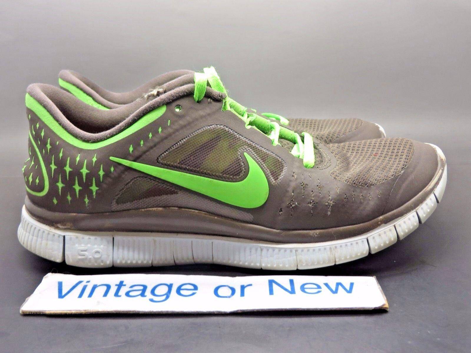 les nike tour gratuit   3 3 3 Gris  citron vert, des chaussures de course 510643-202 sz 7 6811f7