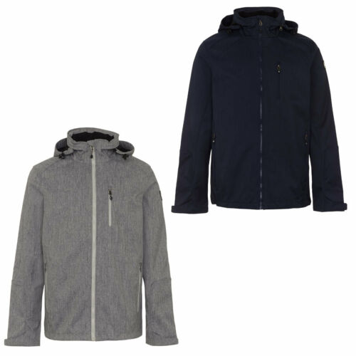 Killtec SHIPPOU Mens Softshell Jacket Functional Jacket Detachable Hood 28358