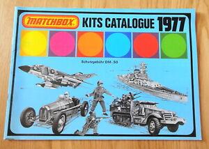 MATCHBOX KITS CATALOGUE KATALOG 1977