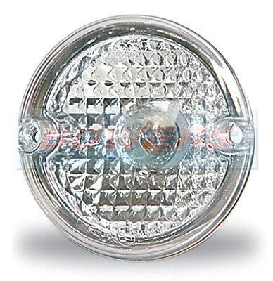 2 x JOKON WHITE CLEAR FRONT MARKER LAMPS LIGHTS ELDDIS CRUSADER XSCAPE CARAVAN
