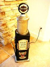Biker's Gas Pump Cabinet Lamp.Mancave.Gameroom.Bar.