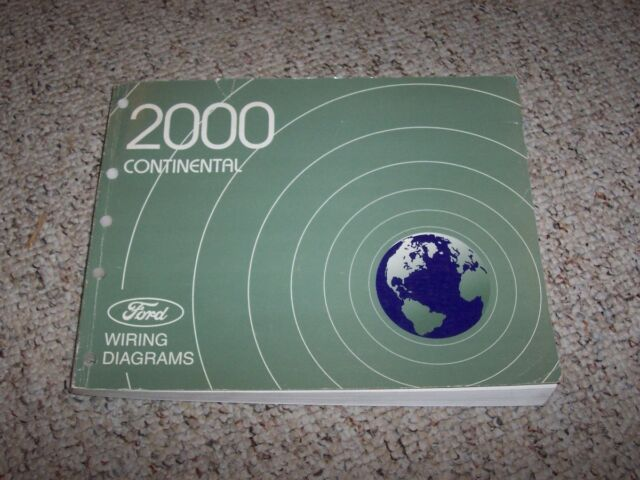 2000 Lincoln Continental Electrical Wiring Diagram Manual
