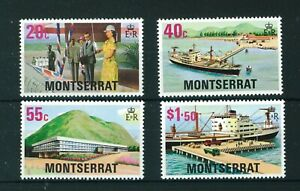 Montserrat-1977-Glendon-Hospital-full-set-of-stamps-MNH-Sg-404-407