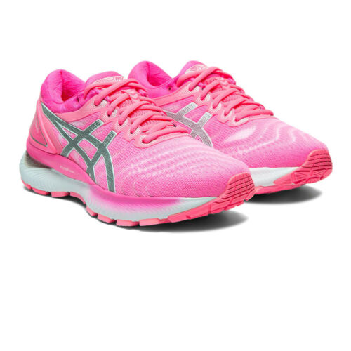 Pink Sports Asics Womens Gel-Nimbus 22 Running Shoes Trainers Sneakers