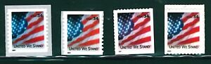 US Scott #3549 ,3549B,3550 ,& 3550A Unido Nosotros Soporte Conjunto De 4 Singles