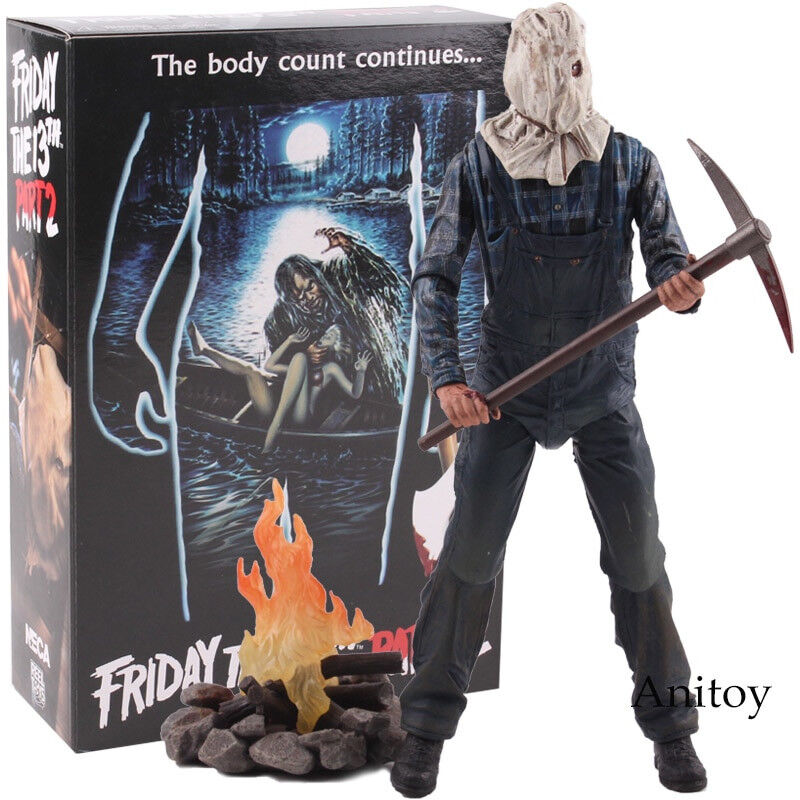 Action Figure NECA Friday the 13th Part 2 Jason Voorhees Figurine Horror PVC