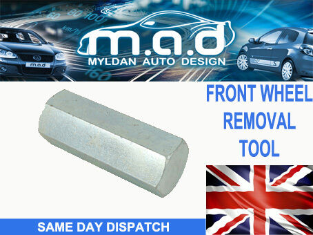 BMW MOTOR BIKE FRONT WHEEL REMOVAL TOOL R1200GS R/RT/ST/S K1200S R/GT F800R 22MM