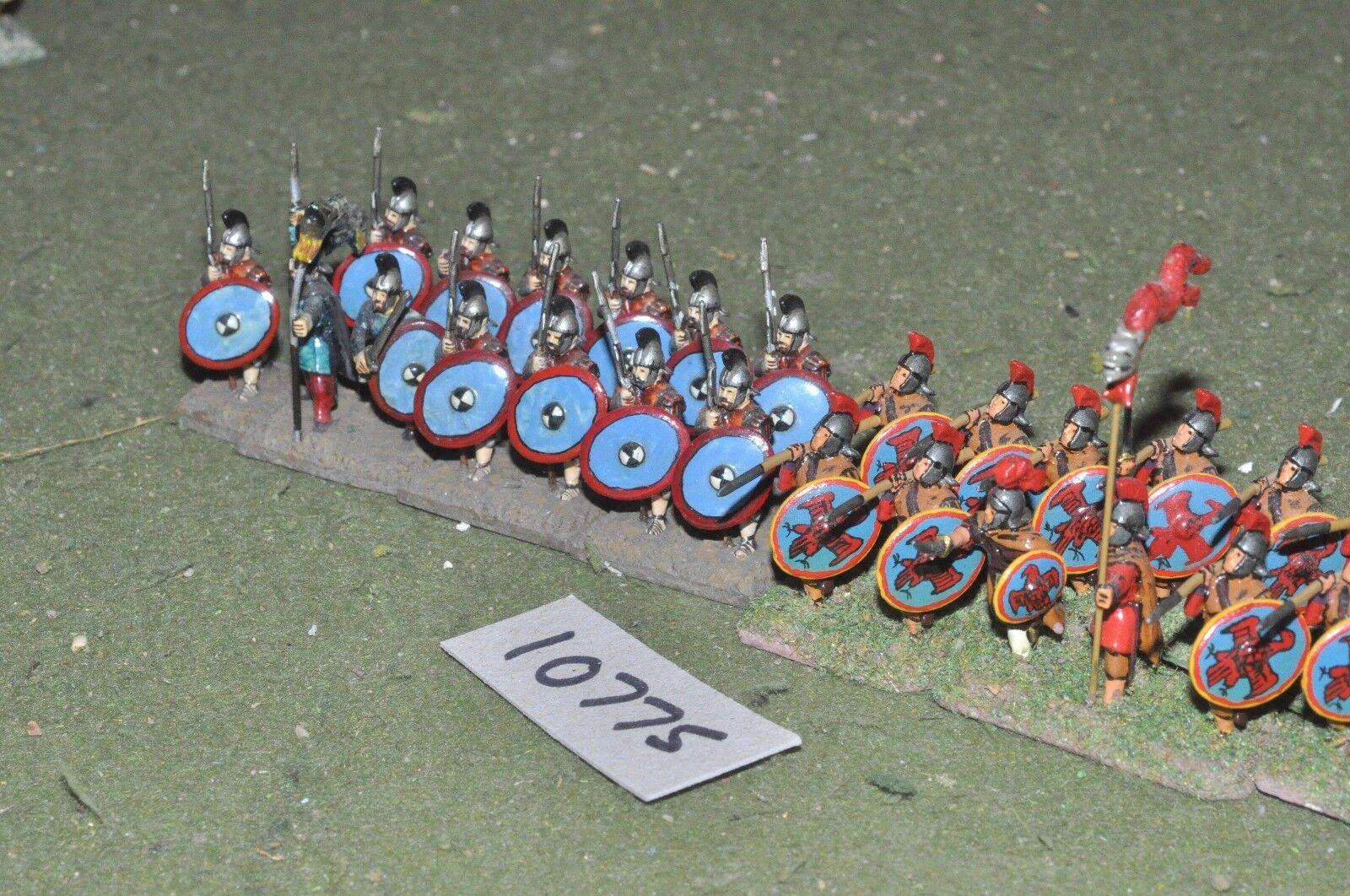 25mm roman era   roman - infantry 24 figs - inf (10775)
