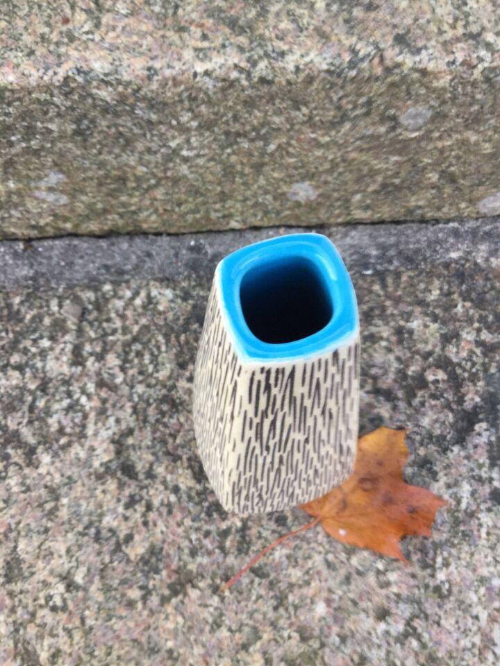Vase, Arnold wings fabrikker, motiv: Art deco
