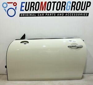 Mini Porta Anteriore Sinistra Portiera Finestra Cabrio F57 Pepe Bianco 850 Rhd