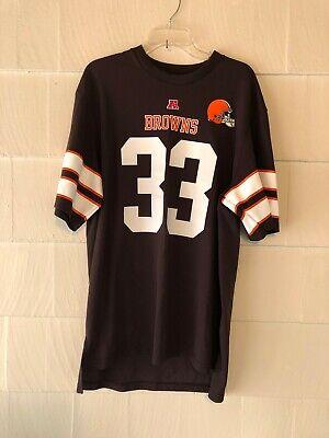 NFL Team Apparel Cleveland Browns #33 Trent Richardson Jersey ...