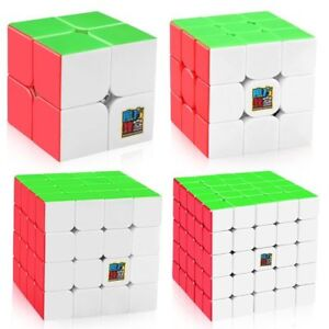 1x-Moyu-Mofangjiaoshi-Speed-Cube-2x2-3x3-4x4-5x5-Stickerless-Puzzle-Magic-Cube