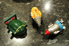 Rare Thunderbirds Takara Pull back & Go vehicles