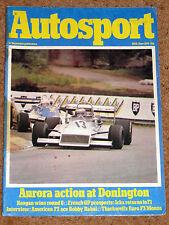 Autosport 28/6/79* AURORA AFX - ACROPOLIS RALLY RS1800 POSTER - RICHARD LLOYD