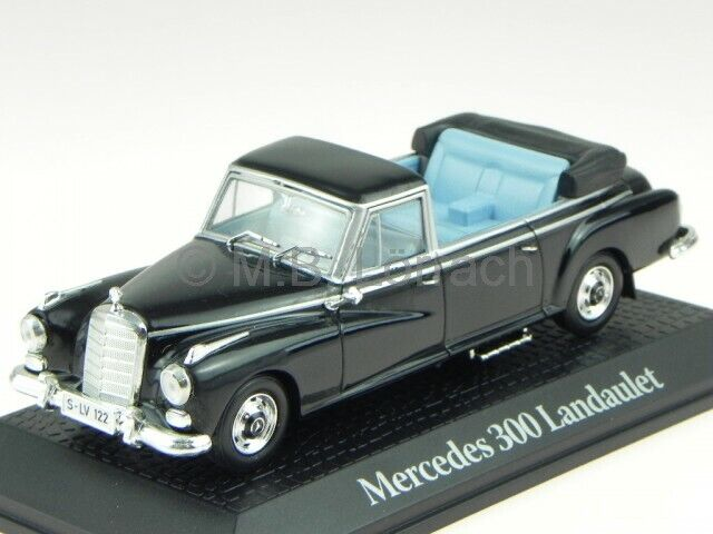 Mercedes W189 300d Landaulet 63 Adenauer modelcar 351232 Norev 1 43