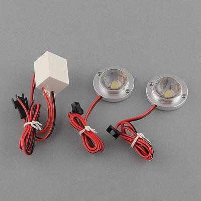 Car Vehicle Truck 2 LED Strobe Emergency White 12V 5W Light + Controller