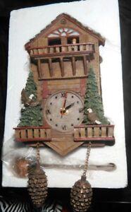 Hunter Style Cuckoo Coo Coo Clock BRAND NEW IN BOX