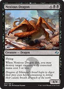 4 NOXIOUS DRAGON ~mtg NM Fate Reforged Unc x4