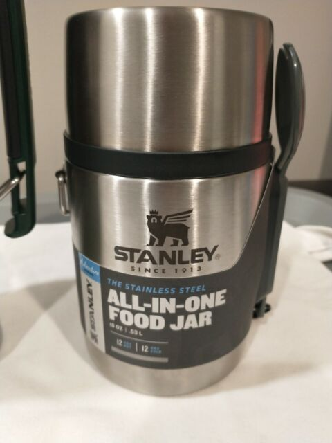 Stanley Adventure 18 oz. All-In-One Vacuum Insulated Food Jar Stainless Steel