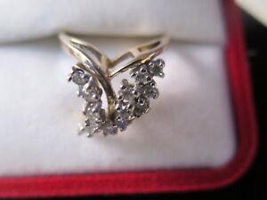 Estate-14K-Gold-Diamonds-Coctail-Ring-0-70-Cts-in-V-Design-16