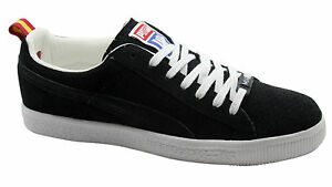 reputable site a8057 7dd38 Details about Puma Clyde X Undefeated Gametime Miami Heat Mens Lo Black  Trainers 354271 01 D34