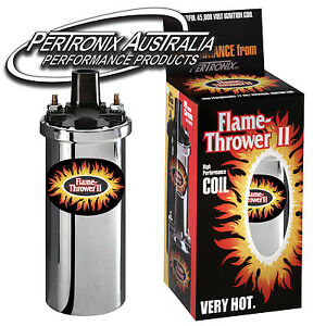 Pertronix-Flame-Thrower-II-Coil-0-6-ohm-4-6-amp-8-Cyl-Chrome-45-000V-6200