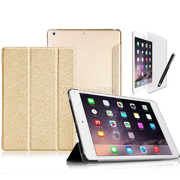 Hot 9 Colors Tri-Fold Slim Magnetic Leather Case Cover for Apple iPad Mini 1/2/3
