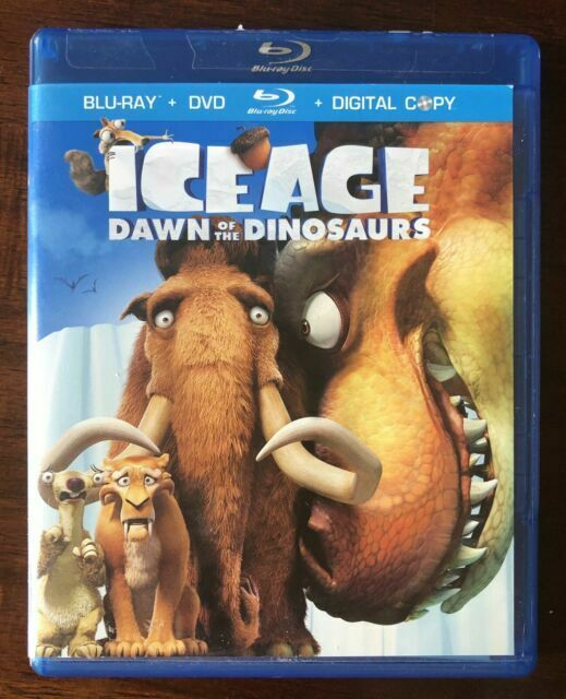 Ice Age Dawn Of The Dinosaurs Blu Ray Dvd Digital Copy For Sale Online Ebay