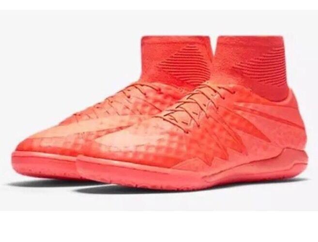 NWT Nike HypervenomX Proximo IC Indoor Soccer- Solar Red- 747486-688 - SZ-10.5
