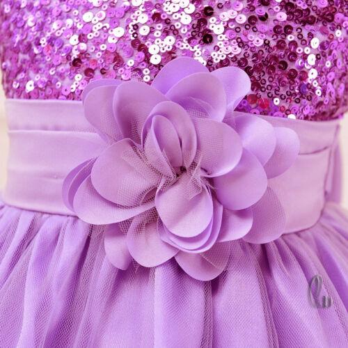 AU SELLER Girls Princess Party Pageant Wedding Bridesmaid Maxi Dress gd008