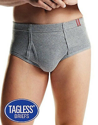 Hanes Men's TAGLESS® Briefs with ComfortSoft® Waistband 6-Pack -  7820N6
