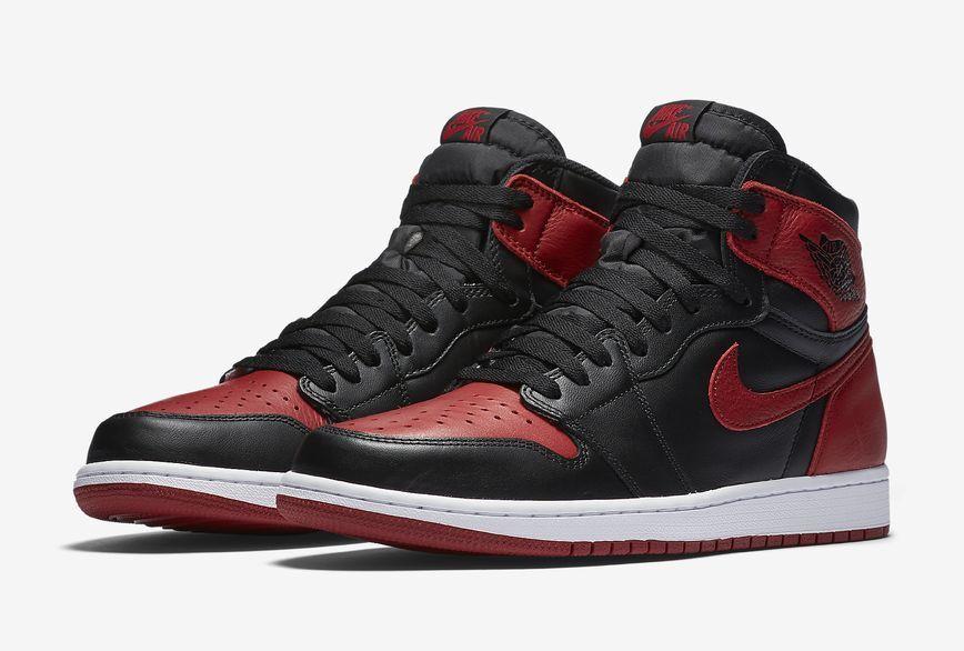 2016 Nike Air Jordan 1 Retro High OG Banned Bred Size 14. 555088-001