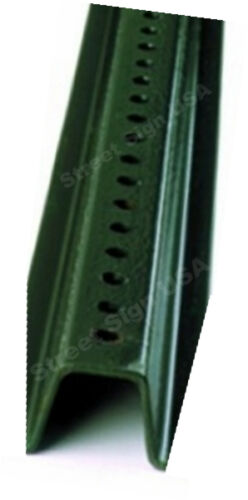 3/' GREEN U CHANNEL SIGN POST BASE HEAVY DUTY FOR STREET ROAD TRAFFIC SIGNS