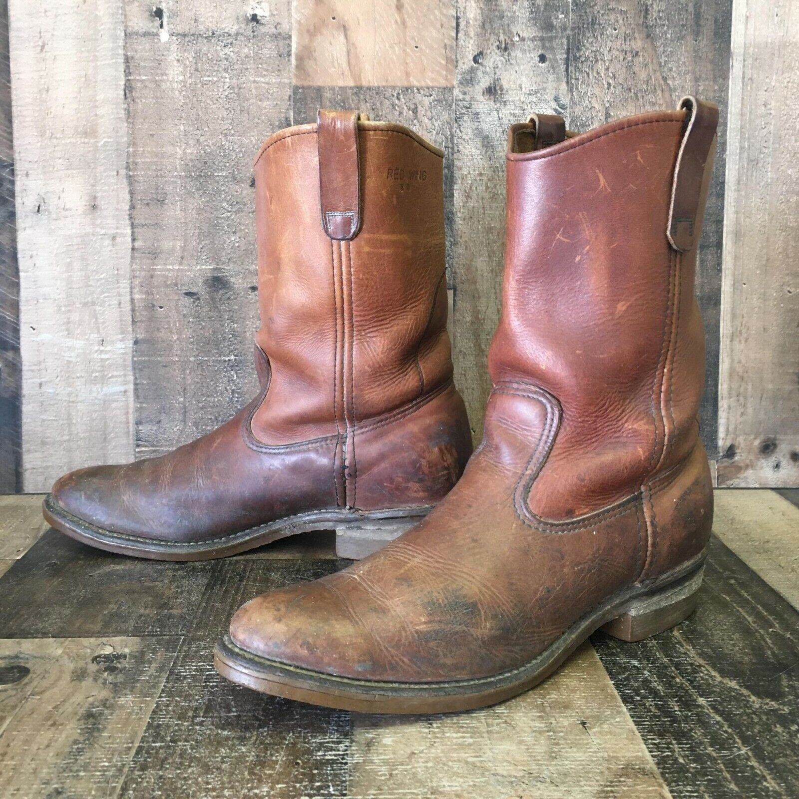 Red Wing 1155 Work Boots Mens 12 AAA