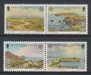 Isle-of-Man-1986-Europa-Nature-set-MNH-SG-317-20