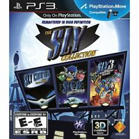 The Sly Collection Ps3 Sony Playstation 3 Brand Sealed Fast Shipping