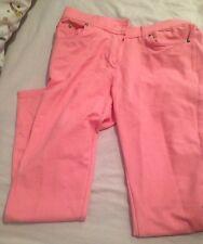 Size 14 Baby Pink Jeggings Denim Cute Kawaii Fairy Kei Pastel Pink