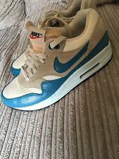 Genuine Women's Nike Air Max 1 Trainers  Size 4.5 Immaculate Condition Worn Twic