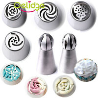 Russian Tulip Flower Icing Piping Nozzles Cake Decoration Tips Baking Tools DIY
