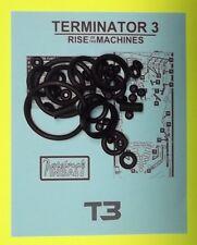 2003 Stern Terminator 3 pinball rubber ring kit